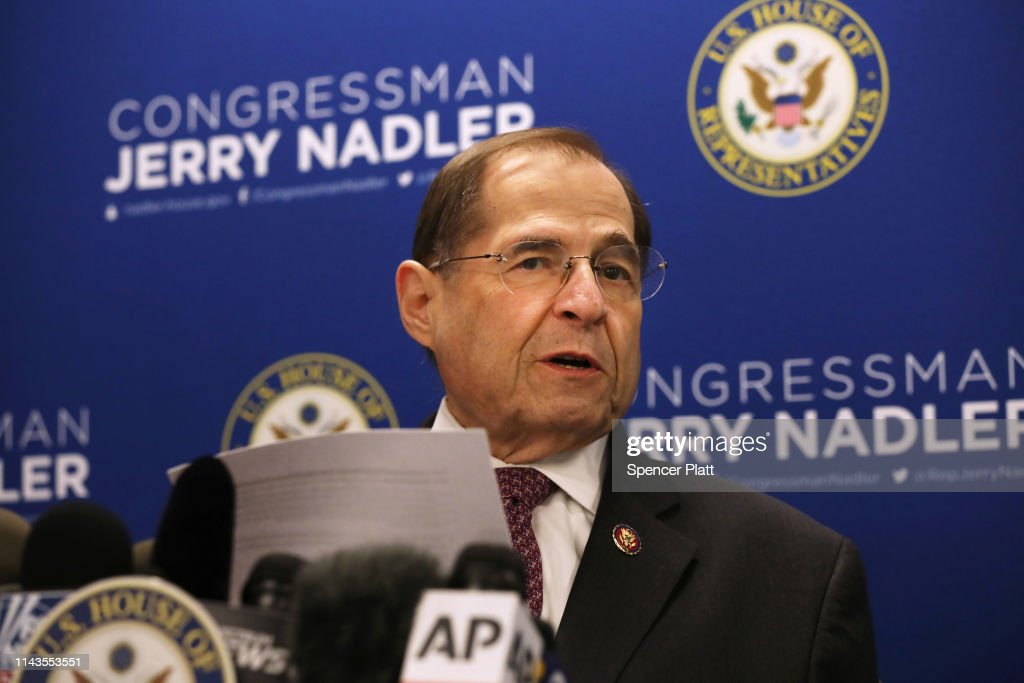 NY: Rep. Jerry Nadler Hold News Conference After Mueller Report Released