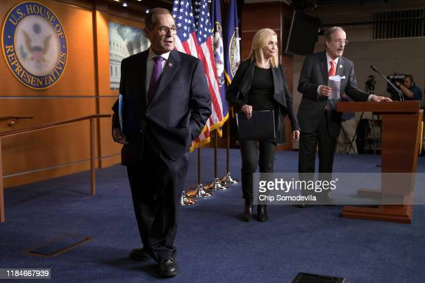 House Judiciary Committee Chairman Jerrold Nadler House Oversight and Government Reform Committee Acting Chairwoman Carolyn Maloney and House Foreign...