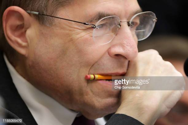 House Judiciary Committee Chairman Jerrold Nadler presides over a hearing about the Mueller Reporter in the Rayburn House Office Building on Capitol...