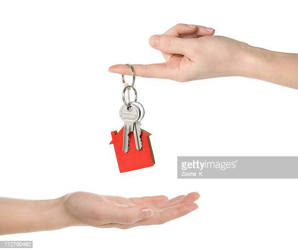 House keys (clipping paths included)