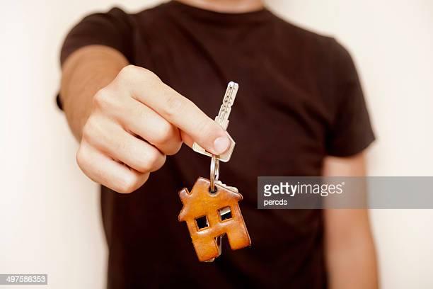chaves de casa - agência imobiliária - fotografias e filmes do acervo