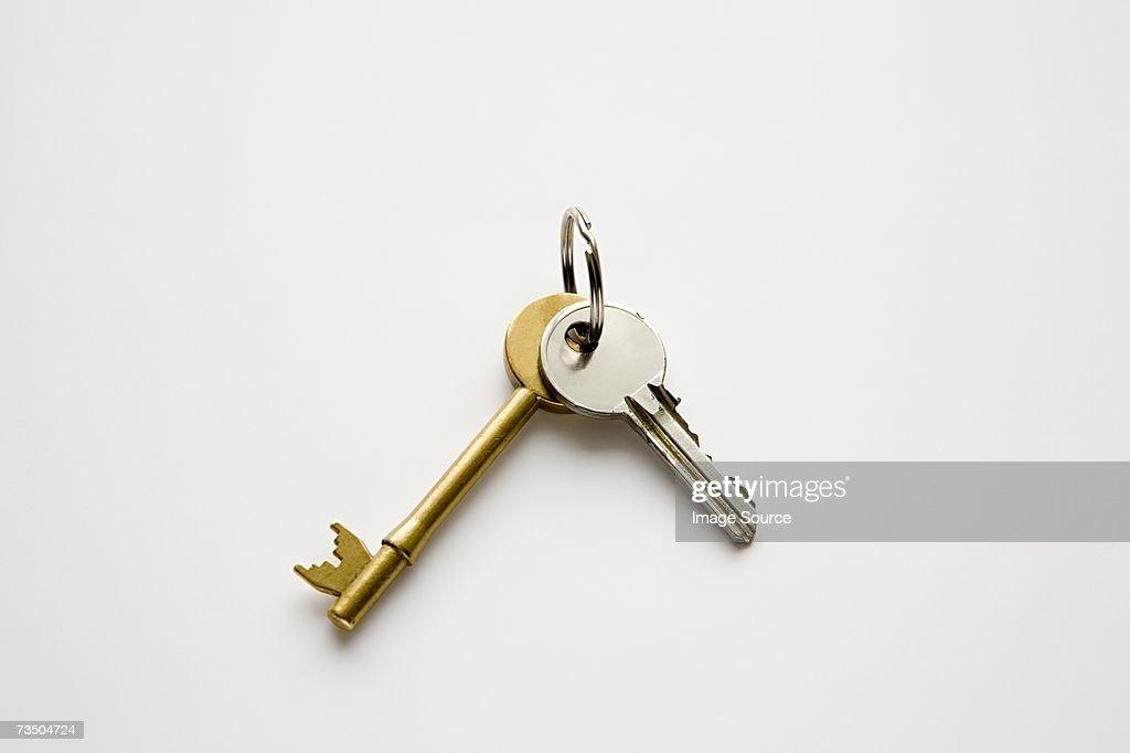 House keys : Stock Photo