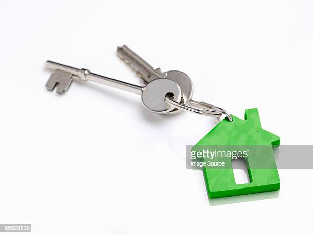 house keys - house key stock photos and pictures