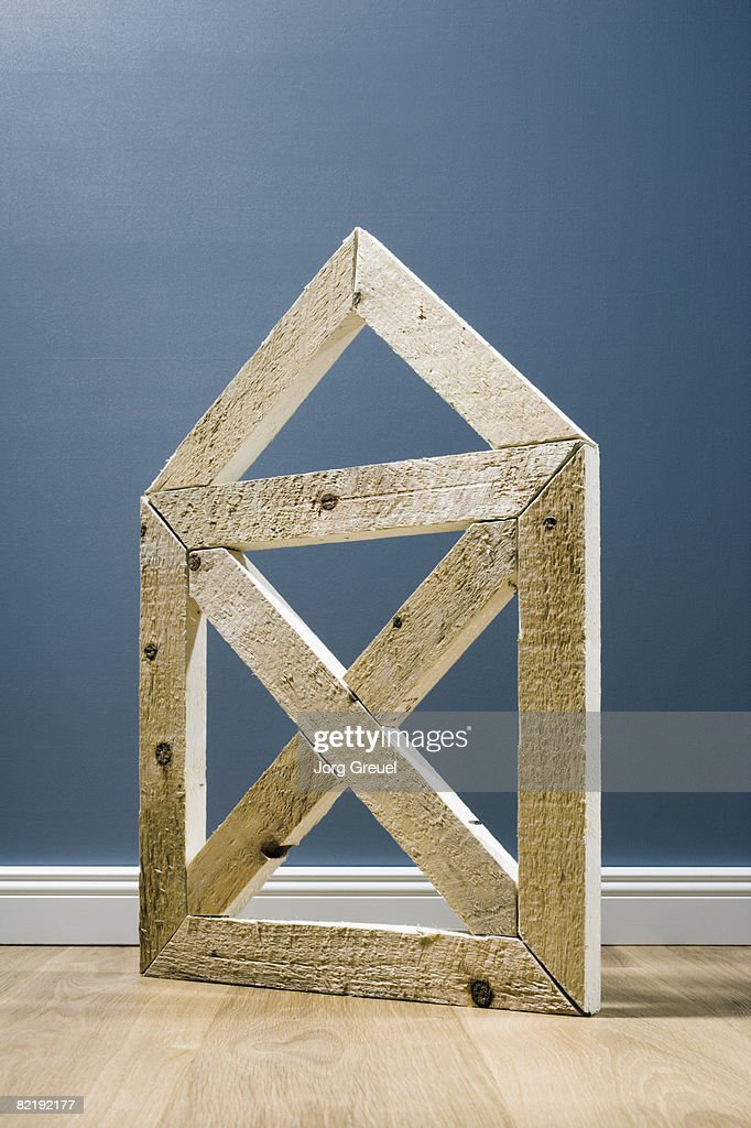 House made of planks : Stock Photo