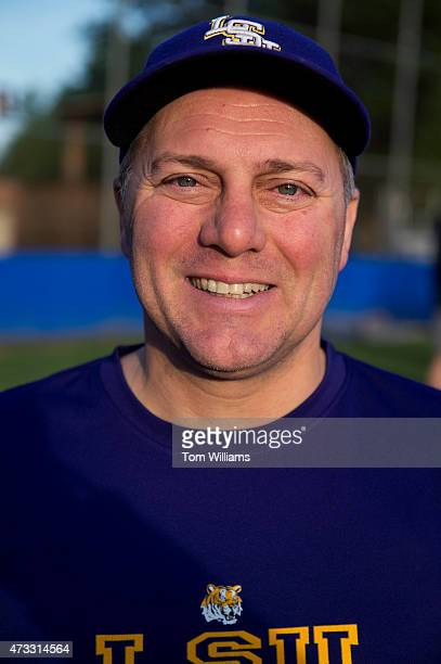House Majority Whip Steve Scalise RLa attends Republican baseball practice in Alexandria Va May 14 2015