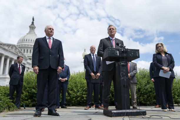 DC: House Republican Leader McCarthy Holds News Conference On Constitutionality Of Voting By Proxy