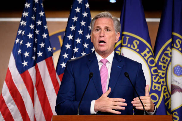 DC: House Republican Leader Kevin McCarthy Holds Weekly News Conference