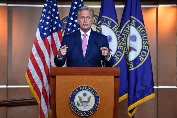 DC: Minority Leader McCarthy Holds Weekly Press Conference