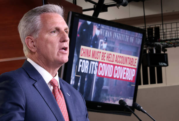 DC: House Minority Leader McCarthy Holds China COVID-19 Accountability Press Conference