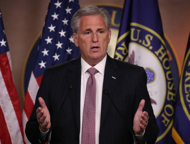 DC: House Minority Leader Kevin McCarthy Holds His Weekly Press Conference