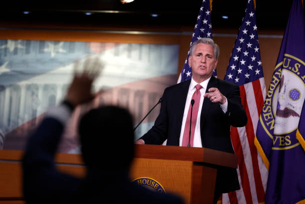 DC: House Minority Leader McCarthy Briefs Press In Weekly News Conference