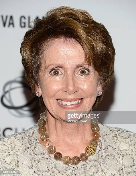 House Minority Leader Nancy Pelosi, D-Calif., attends Together To End AIDS: An Evening To Benefit amfAR and GBCHealth at John F. Kennedy Center for...