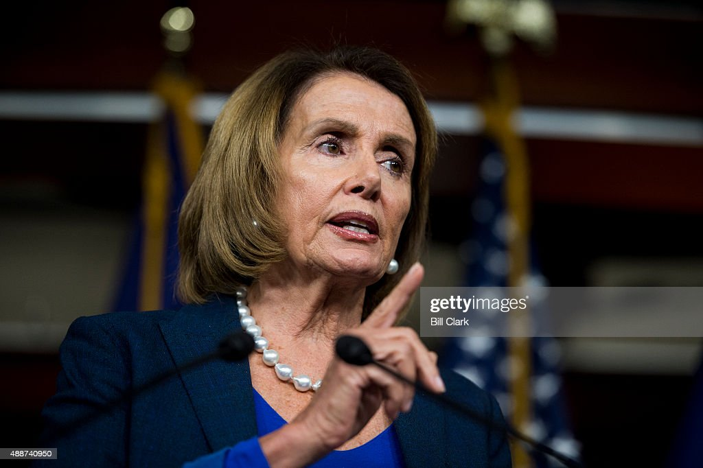 House Minority Leader Nancy Pelosi... : News Photo