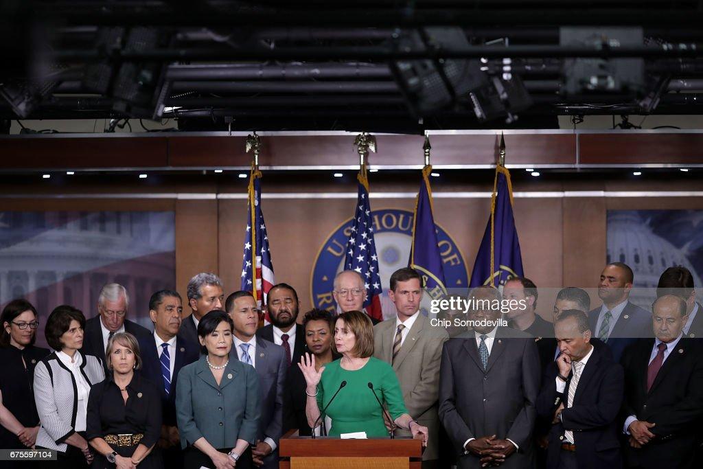 Congressional Democrats Mark Immigrant Rights Day At U.S. Capitol