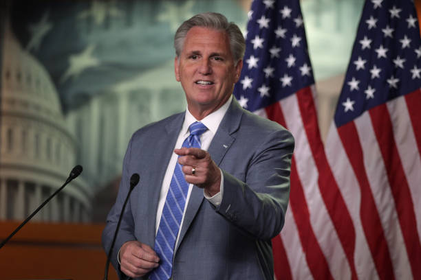 DC: House Minority Leader Kevin McCarthy Holds Weekly Press Conference