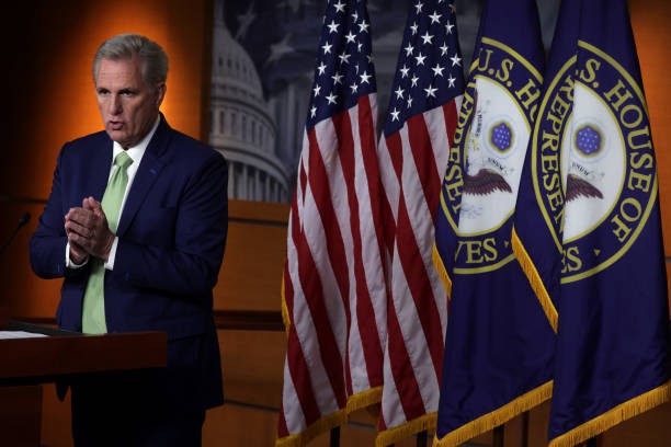 DC: House Minority Leader McCarthy Holds Weekly Press Conference