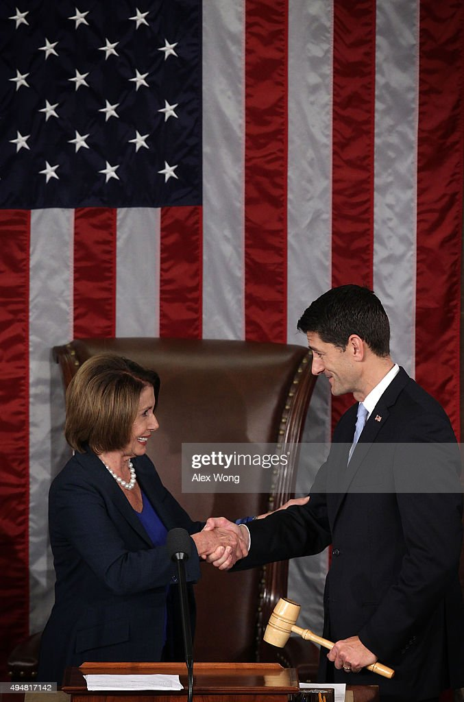 US House Of Representatives Votes To Elect A New Speaker : News Photo