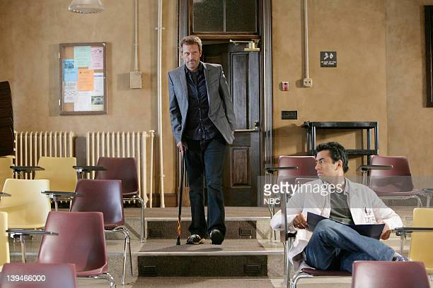 House Mirror Mirror Episode 5 Pictured Hugh Laurie as Dr Greg House Kal Penn as Dr Lawrence Kutner
