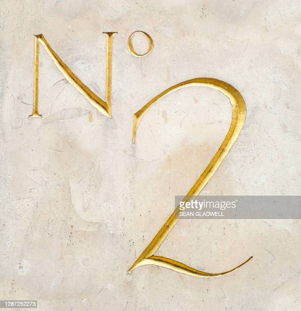house number 2 - embellishment stock pictures, royalty-free photos & images