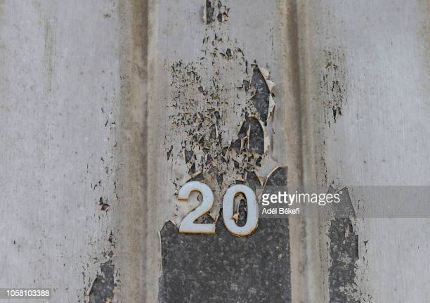 house number 20 - number 20 stock pictures, royalty-free photos & images