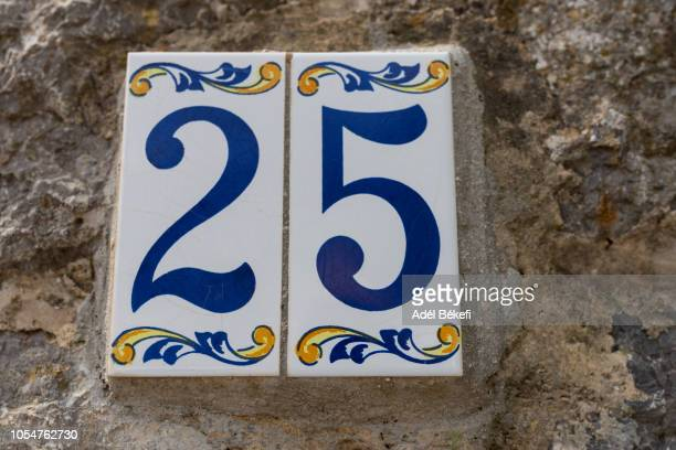house number 25