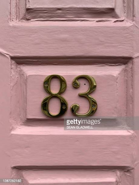 house number 83 - embellishment stock pictures, royalty-free photos & images