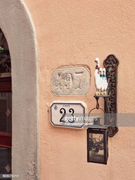 house numbers reveal history of a place