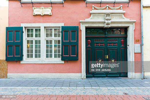 house of birth of ludwig van beethoven - beethoven stock pictures, royalty-free photos & images