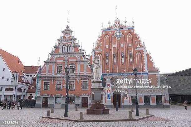 House of Blackheads and town hall square, Riga, Latvia