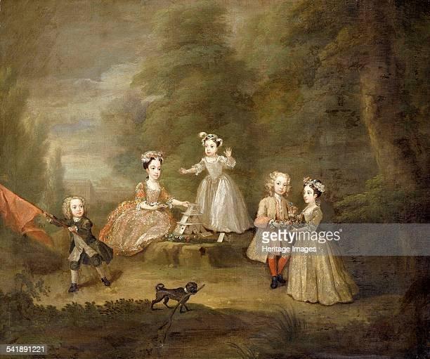 A house of cards' 1730 Artist William Hogarth