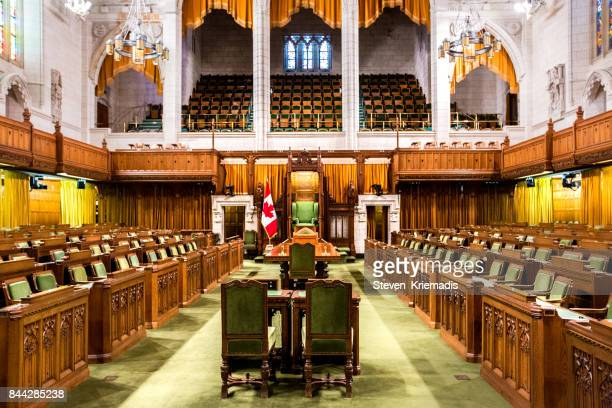 House of Commons - Canadian Parliament Building