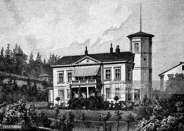 House of Eugenie Marlitt in Arnstadt, Friederieke Henriette Christiane Eugenie John, December 5, 1825 - June 22 one of the most widely read German...