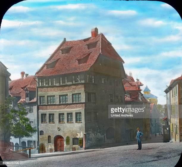 House of famous painter Albrecht DŸrer in Nuremberg