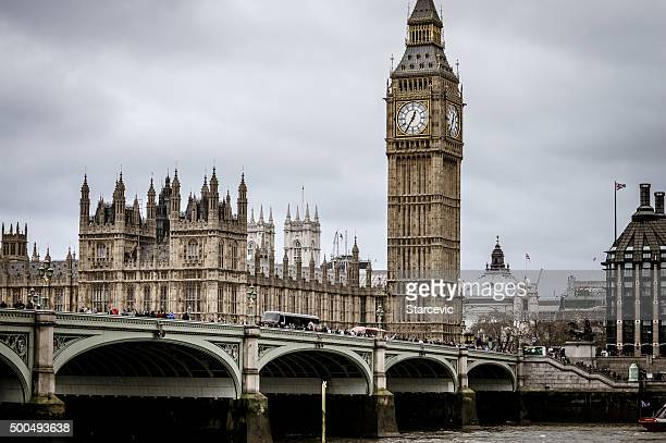 House of Parliament and Big Ben - London, UK