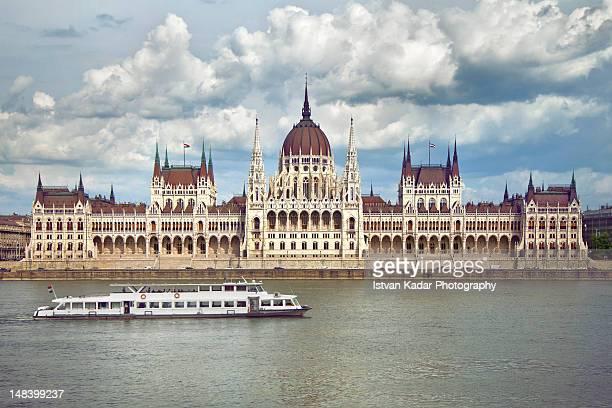 house of parliament - sede do parlamento húngaro - fotografias e filmes do acervo