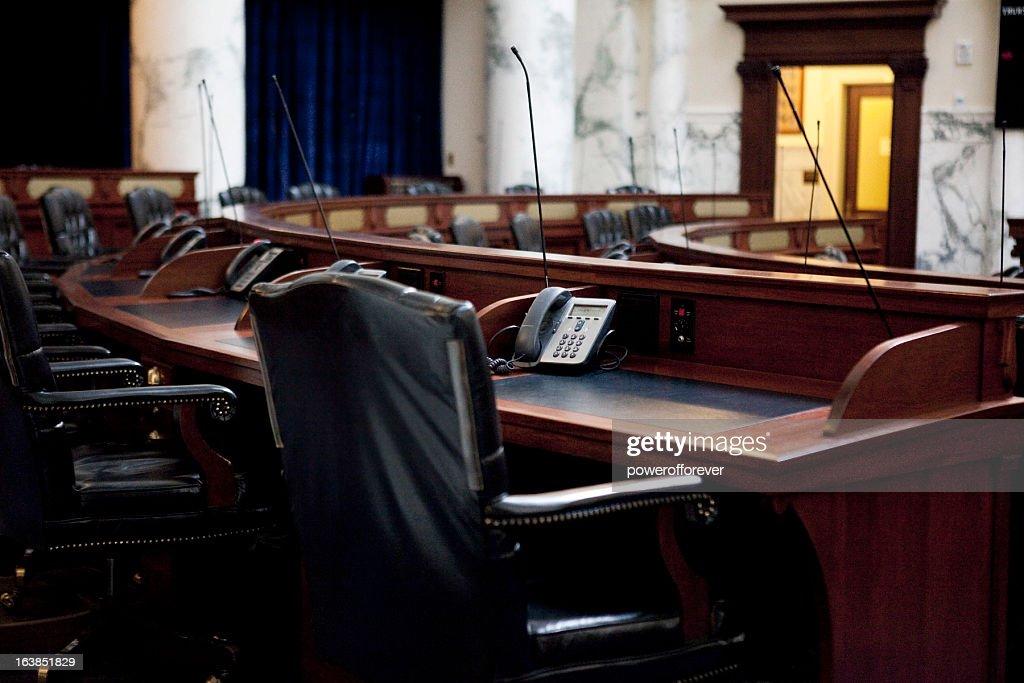 House of Representatives Chamber Idaho State Capitol : Stock Photo