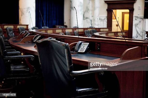 house of representatives chamber idaho state capitol - neoklassiek stockfoto's en -beelden