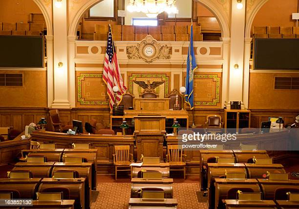 house of representatives chamber south dakota state capitol - house of representatives stock pictures, royalty-free photos & images