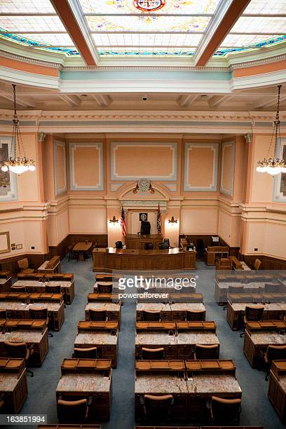 House of Representatives Chamber Wyoming State Capitol