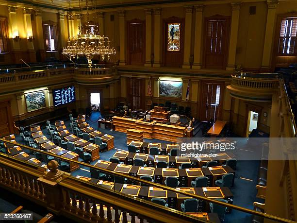 house of representatives colorado state capitol denver - united states congress stock pictures, royalty-free photos & images