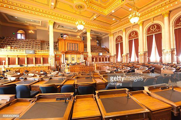 house of representatives in sate capitol, iowa - house of representatives stock pictures, royalty-free photos & images