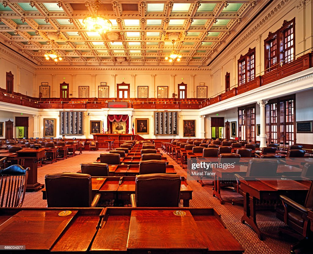 House of Representatives in Texas State Capitol : Stock Photo