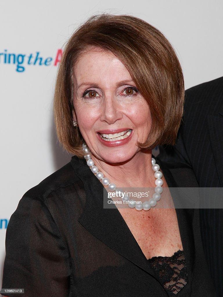 U.S. House of Representatives Minority Leader Nancy Pelosi attends the Tony Bennett 85th birthday gala at The Metropolitan Opera House on September 18, 2011 in New York City.