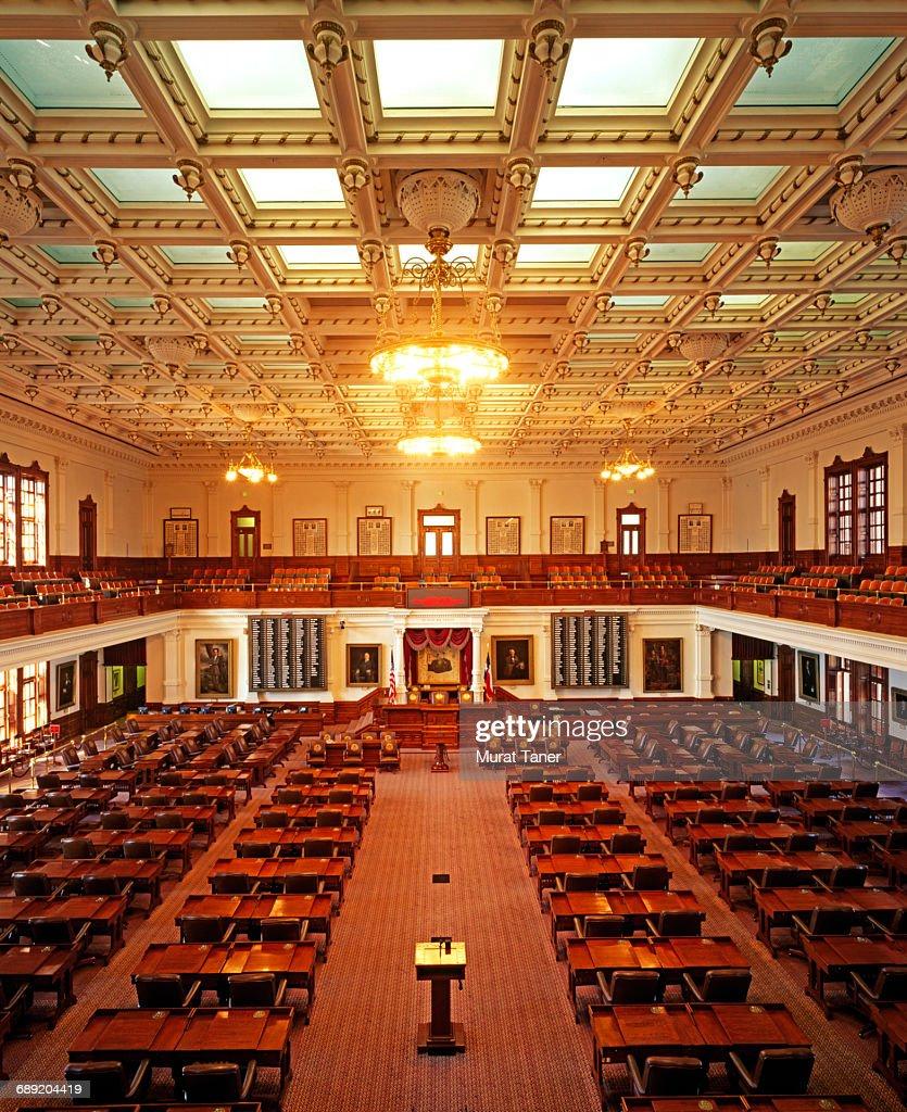 House of Representativesi, Texas State Capitol : Stock Photo