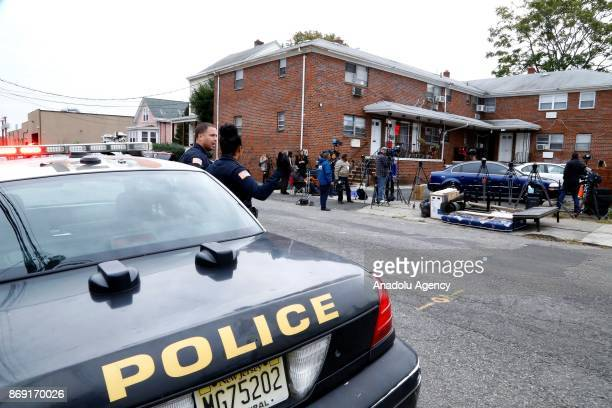 House of Sayfullo Saipov who is the suspect accused of killing eight people and injuring a dozen others in New York City is seen in Paterson New...