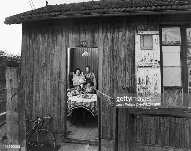 House Of The 2 La Courneuve Paris Suburb 1952