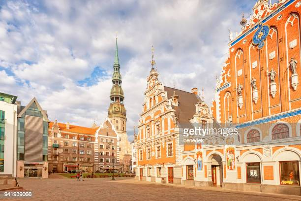 House of the Blackheads in downtown Riga Latvia