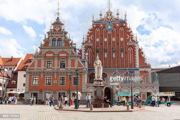 Maison des points noirs, Riga, Lettonie