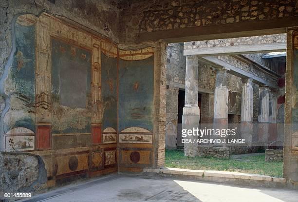 House of the Ceii Pompeii Campania Italy Roman civilisation 2nd century BC1st century AD