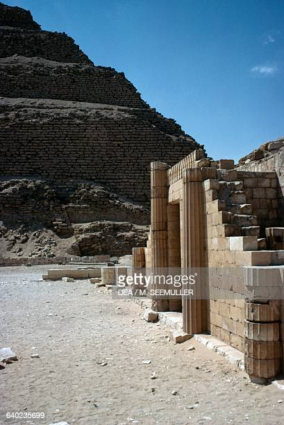 House of the South Pyramid Complex of Djoser at Saqqara Memphis Egypt Egyptian civilisation Old Kingdom Dynasty III